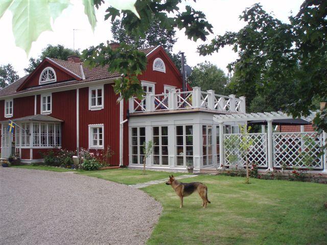 Granås Gård där du kan bo och uppleva äkta småländsk natur.